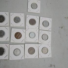 钱币13个,品相不错,喜欢的来买,售出不退。包邮保真不包退。标的是13枚的价格。