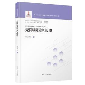 国家无障碍战略研究与应用丛书:无障碍国家战略(精装)