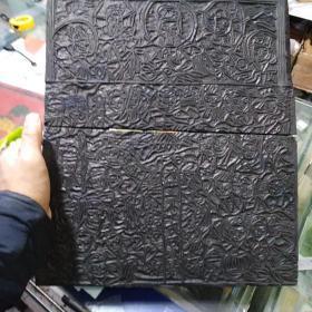 老木刻雕版,早期的印刷术,保真包老,售出不退。