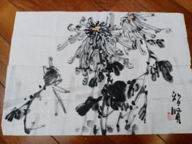 李味青先生爱徒,天津著名老画家史智贤国画 一副保真