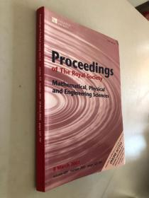 Proceedings of the royal society mathematical,physical and engineering sciences 英国皇家学会数学、物理和工程科学学报