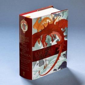 英文原版 地海传奇全集插图版 2019年雨果奖 The Books of Earthsea: The Complete Illustrated Edition 厄休拉·勒古恩