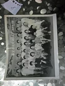 铜陵市人事局1983年欢送陈桂玲同志合影