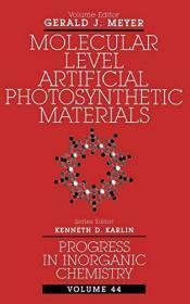 Progress in Inorganic Chemistry, Molecular Level Artificial Photosynthetic Materials: 44
