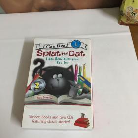 英文原版I Can Read 啪嗒猫16册:Splat The Cat)全16册)正版  现货