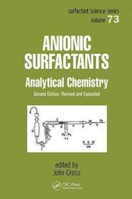 Anionic Surfactants - Analytical Chemistry