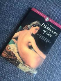 现货 Dictionary of Sex