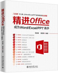 精进office成为Word/Excel+PPT高手