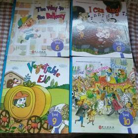 布朗儿童英语2.0.LEVEL4.6-10(缺7)4本合售