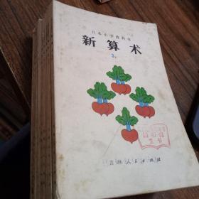 【馆藏】日本小学教科书:新算术 3.上下册