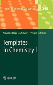 Templates In Chemistry I (topics In Current Chemistry)