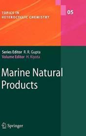 Marine Natural Products (topics In Heterocyclic Chemistry)