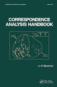 Correspondence Analysis Handbook - Biochemistry, Toxicology, Dermatology