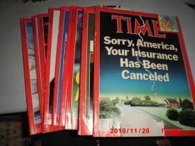 Time(英文原版,美国《时代周刊》, 1986.1987  共12期合售,详见描述