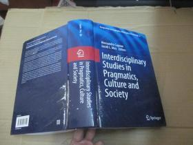 Interdisciplinary Studies in Pragmatics Cilture and Culture and  Society【小16开精装厚册】