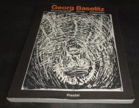 2手英文 Georg Baselitz: Druckgraphik, Prints 乔治·巴塞利兹 版画 sfa19