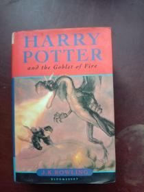 Harry Potter and the Goblet of Fire 英文原版 哈利.波特与火焰杯