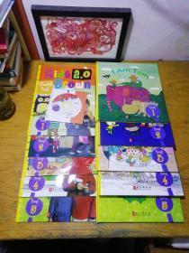 正版 Kids Brown2.0 Level Two 布朗儿童英语 1(1-5册)附练习册1-5(附光盘一张)(10本合售)