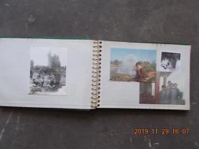 八九十年代16开彩色黑白老照片一本(大小50张,看图详述)
