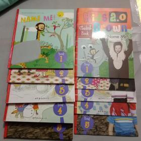 Kids Brown 2.0 布朗儿童英语 【Level 2】1.2.3.4.5+练习册1.2.3.4.5十本合售,精装本都附小光盘5张, 库存书内页干净整齐