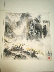 杜思民山水画作