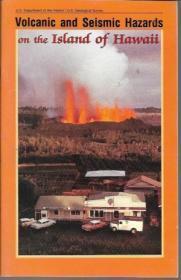 Volcanic and seismic hazards on the Island of Hawaii