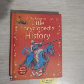 The usborne little encyclopedia of history 历史小百科 英文原版 精装 铜版纸