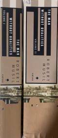 穆齐尔:  没有个性的人   英译本   两卷全     1792页