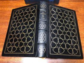 The Alhambra  Easton Press 真皮精装收藏版,书口三面刷金,能保存数百年的存档级别的无酸纸