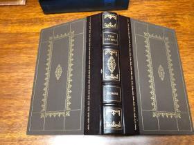 Homer the Odyssey 书口三面刷金,能保存数百年的存档级别的无酸纸cv