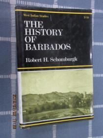 THE  HISTORY  OF  BARBADOS    硬精装