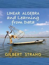 现货 Linear Algebra and Learning from Data 英文原版 Gilbert Strang 线性代数与数据学习  深度学习 神经网络