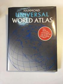 Hammond Universal World Atlas(英文原版、精装如图)包邮