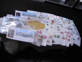 邮资片极限片纪念封一堆