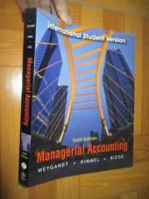 Managerial Accounting (Sixth Edition)     大16开