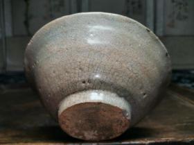 宋代至元代时期古瓷器青瓷影青釉碗