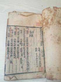景岳全书卷五十四书集,古方八阵。