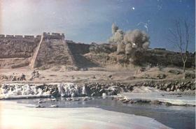 1949年解放军攻城战术训练照片14张5吋