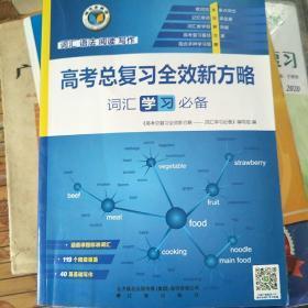 高考总复习全效新方略 词汇,学习 必备  维克多英语