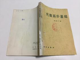 代数拓扑基础  杨鼎文编 【科学出版社1992年一版一印仅2250册,馆藏书】