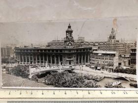 民国时期上海邮政局全景原版老照片