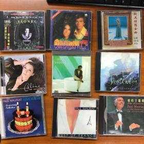 唱片 CD19种 20多张 神秘园 理查德克莱德曼 卡朋特 席琳迪翁