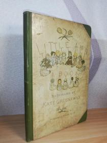 1911年签名   LITTLE  ANN AND OTHER POEMS  含KATE GREENAWAY 彩图   三面书口刷蓝 23.3X15.6CM
