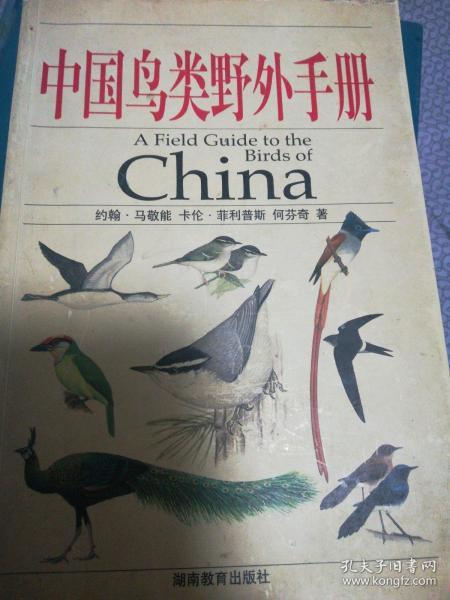 中国鸟类野外手册