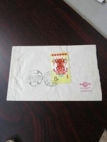 老信封实寄封:1985年湖南长沙县寄桂林 实寄封