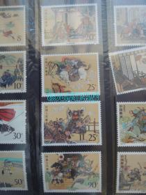 1991-T167水浒传(1套4枚)邮票