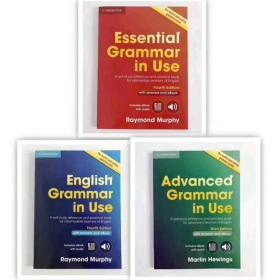 英文原版 剑桥英语语法书 English Grammar in Use全套3本