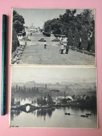 绝对!!低价!!!稀见,早期明信片,广州,4张,合售。三张是1964年一套中的,有一张应该不是同一套