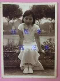 照片,民国,旗袍美女,约1930年代,太美了