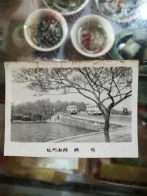 杭州西湖断桥老照片